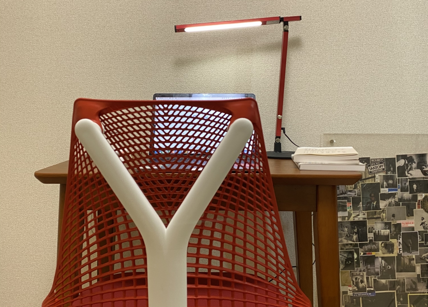 パラナビ岡部・おうち時間・自宅作業環境でセイルチェアを購入