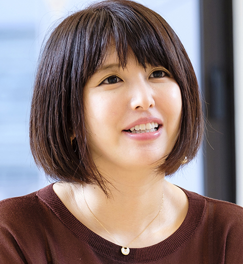 井上千絵さん・岡部対談写真