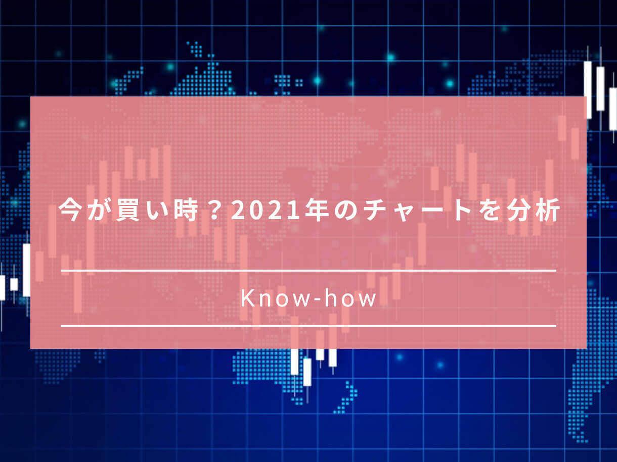今が買い時?2021年のチャートを分析