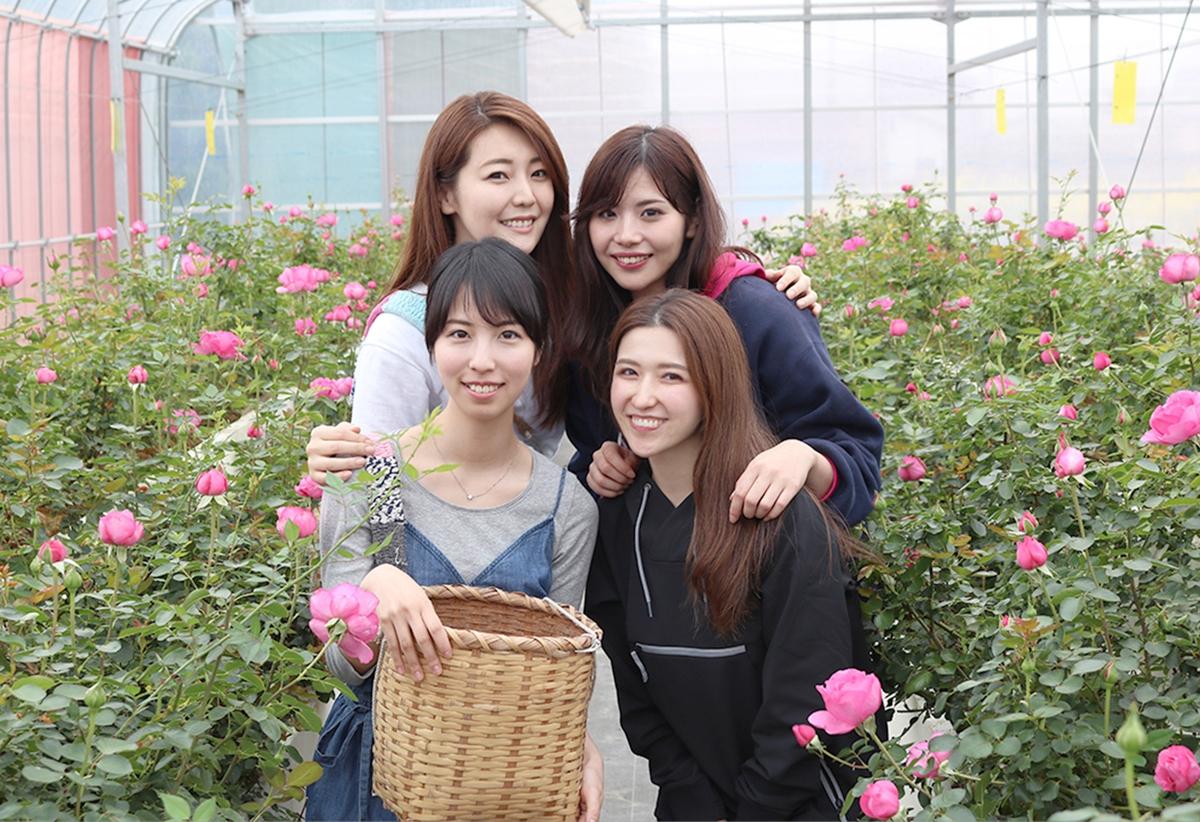 食用バラに魅了されて、農家に弟子入り!ROSE LABO代表・田中綾華さんの「人生をかけて夢中になれるもの」との出会い